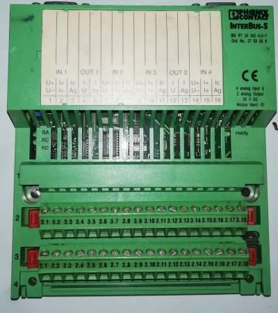 InterBus-S  I/O module - IBS RT 24 AIO 4/2-T - 2753009 .. cena na dotaz / price on request